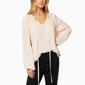 Ramy Brook Paris Long Sleeve Top in Blush